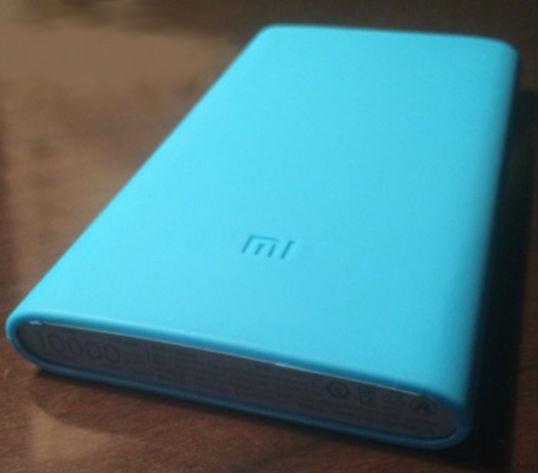 Чехол для Xiaomi Power bank 2 10000, синий