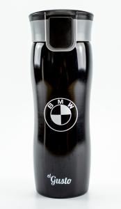 Термокружка el Gusto Corsa «BMW» черная 470 мл