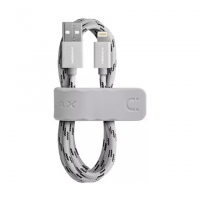 USB кабель Momax Elite Link для Apple Lightning для Apple iPhon / iPad, серебристый