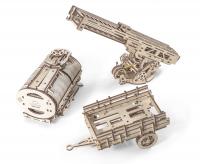 Механический 3D-пазл UGears Дополнение к грузовику UGM-11