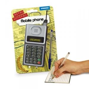 Блокнот - ретро CDMA в виде мобильного телефона