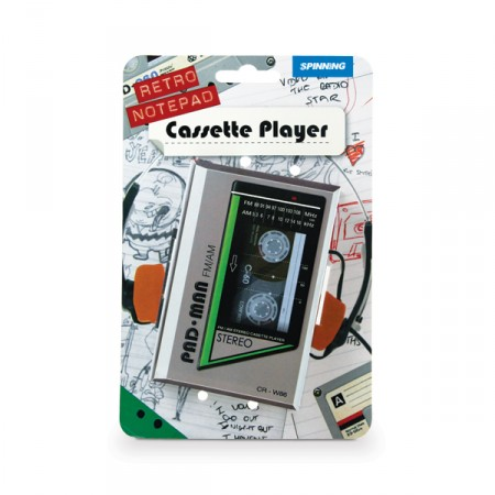 Блокнот - ретро кассета
