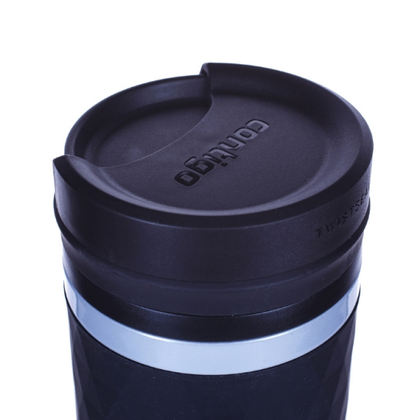 Термокружка Contigo Glaze 470 мл, серебристая