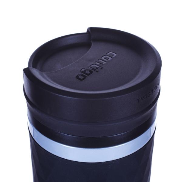 Термокружка Contigo Glaze 470 мл, черная