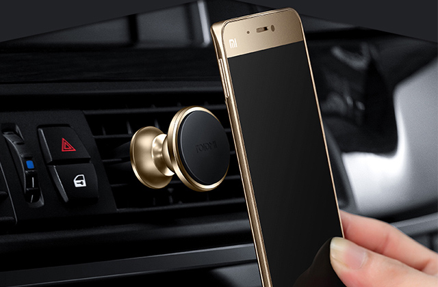 Магнитный автомобильный держатель Xiaomi Roidmi в воздуховод, серебристый