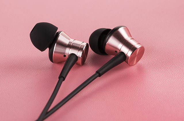Наушники 1MORE E1009 Piston Fit In-Ear Headphones, розовые