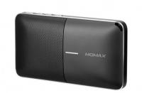 Портативная колонка-аккумулятор Momax Zonic 2 in1 Wireless Speaker Powerbank, черный