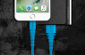 Кабель USB Lightning Momax Tough Link Cable 120 см, черный