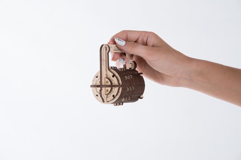 Механический 3D-пазл UGears Замок