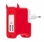 Сетевой блок питания Momax U.Bull 5-port USB Charger, зеленый
