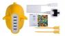 Сетевой блок питания Momax U.Bull 5-port USB Charger, желтый