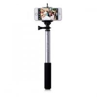 Монопод палка-штатив для селфи Momax SelfiFit - Bluetooth Selfie Pod KMS1, серый