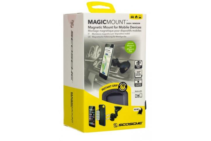 Держатель автомобильный магнитный Scosche Magic Mount Dash/Window