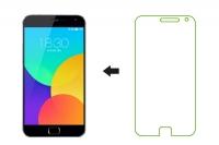 Защитное стекло Ainy для Meizu MX4 Pro 0.33мм, глянцевое