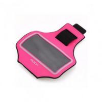 Спортивный чехол на руку Rock Slim Sport Armband для Apple iPhone 7/6/6S, розовый