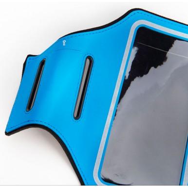 Спортивный чехол на руку Rock Slim Sport Armband для Apple iPhone 7/6/6S, голубой