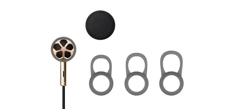 Наушники 1MORE E1008 Dual Driver In-Ear, золотые