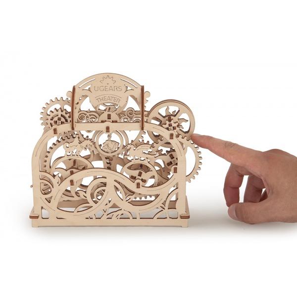 Механический 3D-пазл UGears Театр