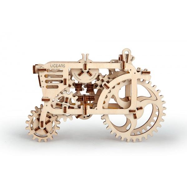 Механический 3D-пазл UGears Трактор