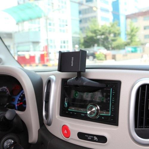 Держатель автомобильный Ppyple CD-N5 в CD-Rom, черный