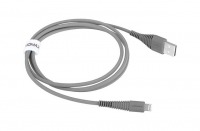 Кабель USB Lightning Momax Tough Link Cable 120 см, серый