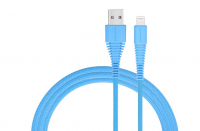 Кабель USB Lightning Momax Tough Link Cable 120 см, голубой