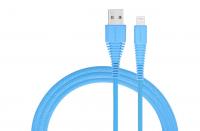 Кабель USB Lightning Momax Tough Link Cable 120 см, голубой